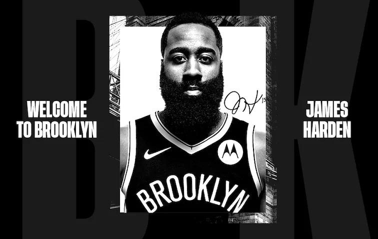 NBA Playoffs - James Harden Brooklyn Nets