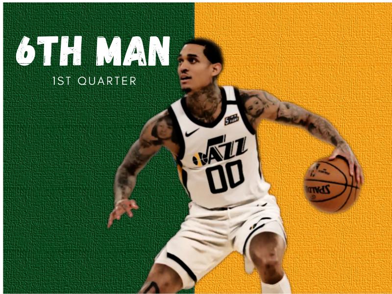 NBA First Quarter Awards 6th Man