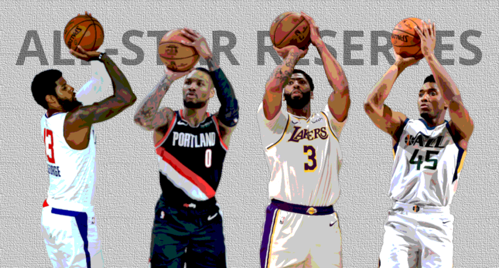 NBA All-Star Reservisten Western Conference