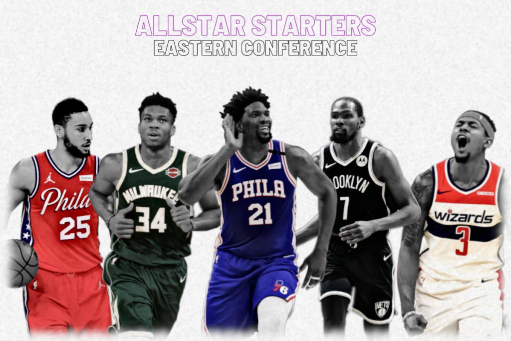NBA Allstar Starters - Osten