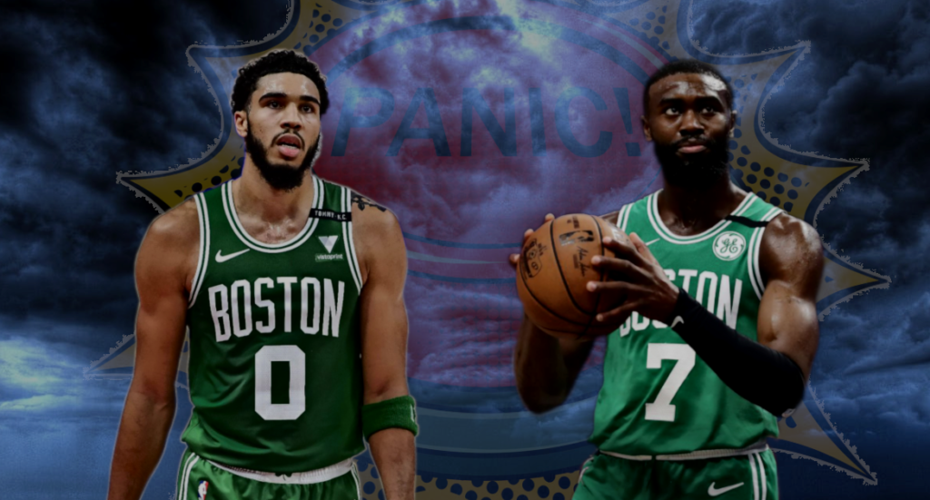 Boston Celtics Panik Knopf