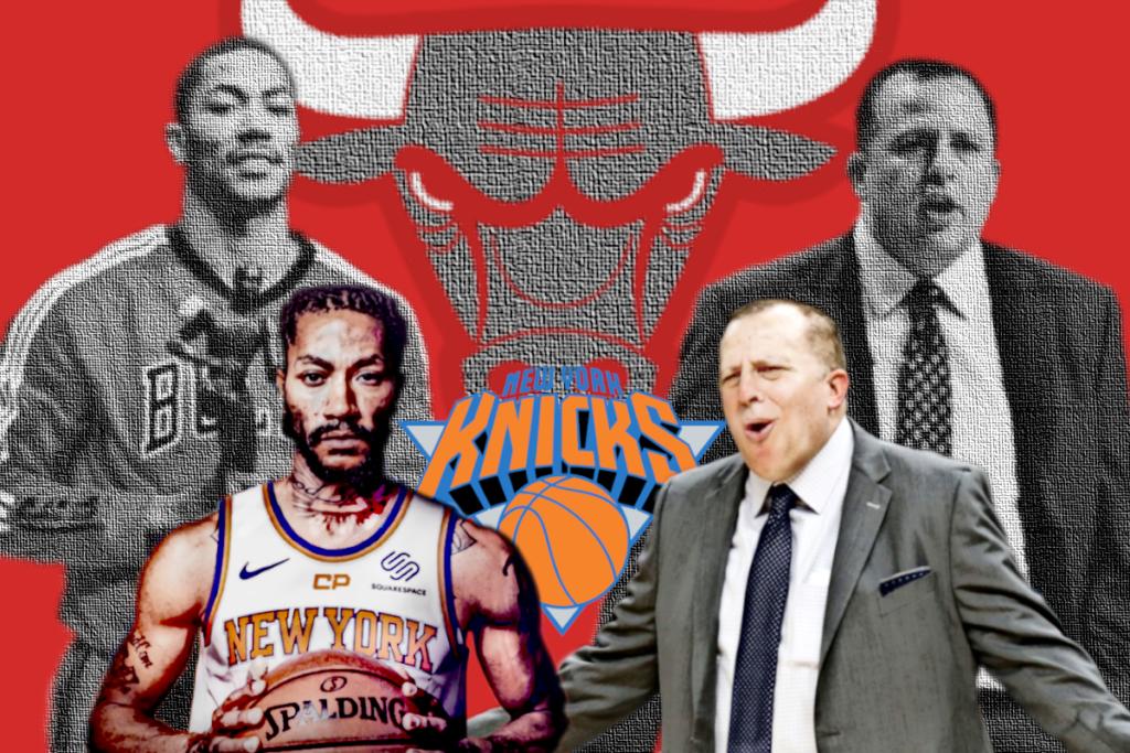 Derrick Rose - Bulls Knicks