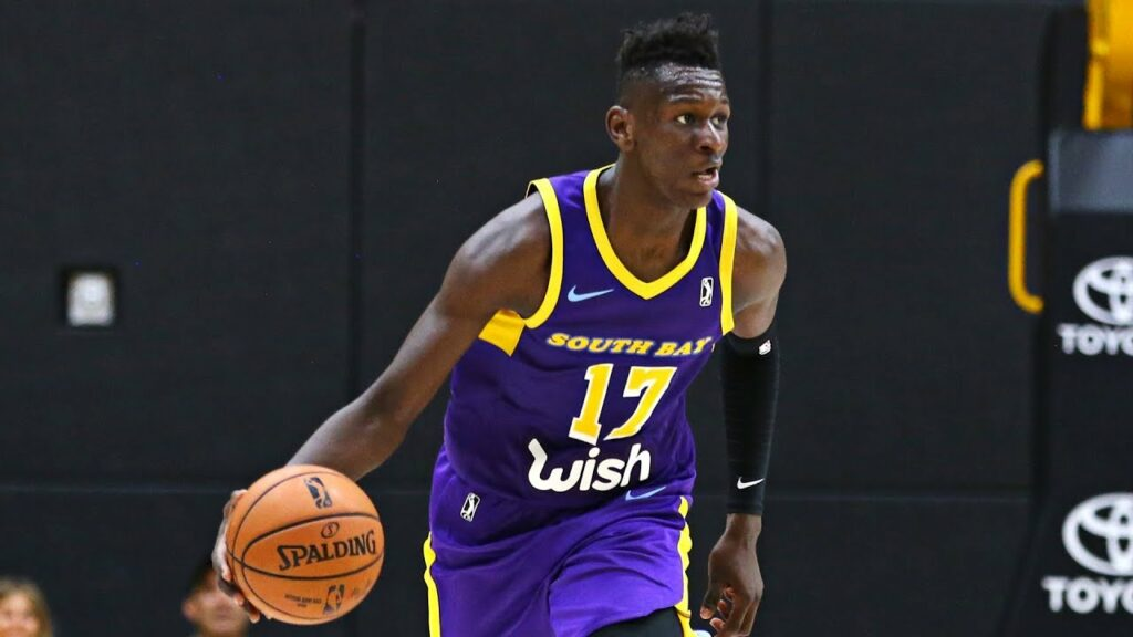 Isaac Bonga South Bay Lakers