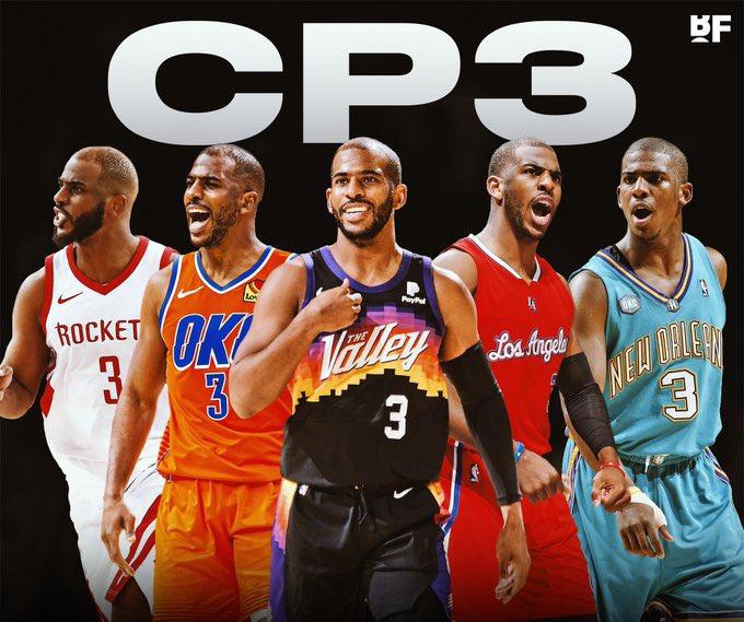 NBA All-Star Reservisten - Chris Paul