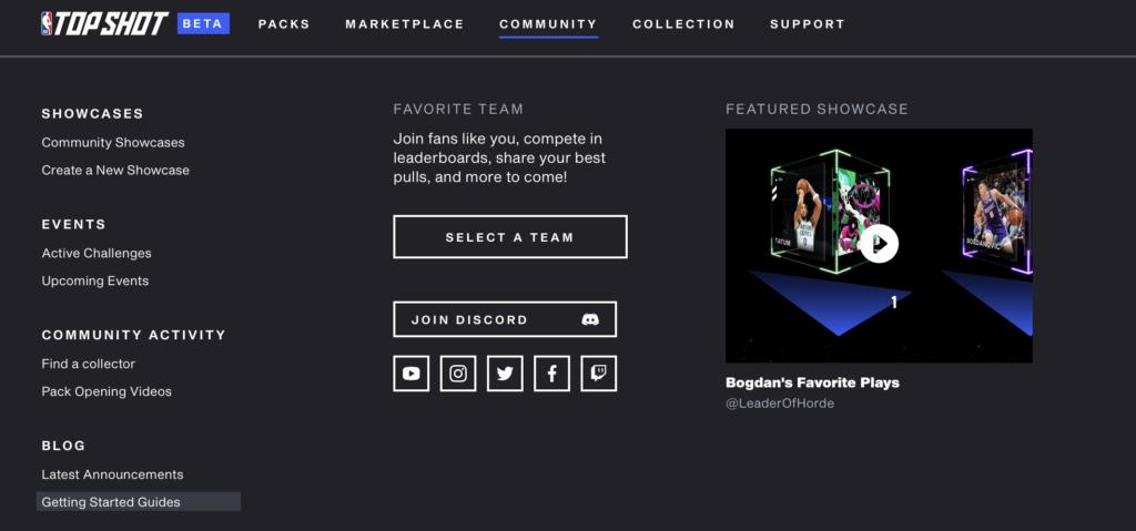 NBA Top Shot Tools und Ressourcen - Top Shot Blog