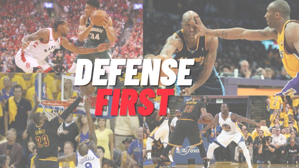 Defense First Zone Defense