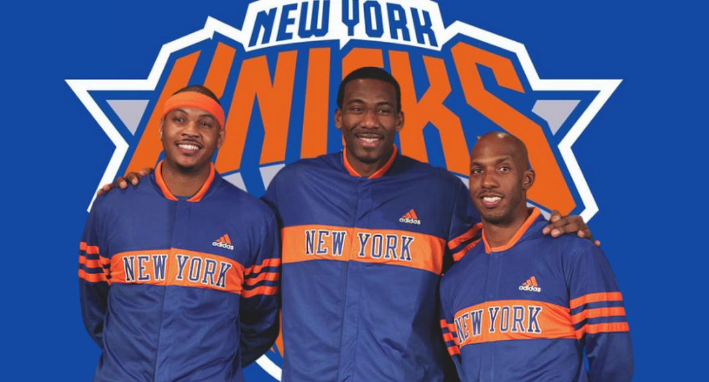 Carmelo Anthonys New York Knicks