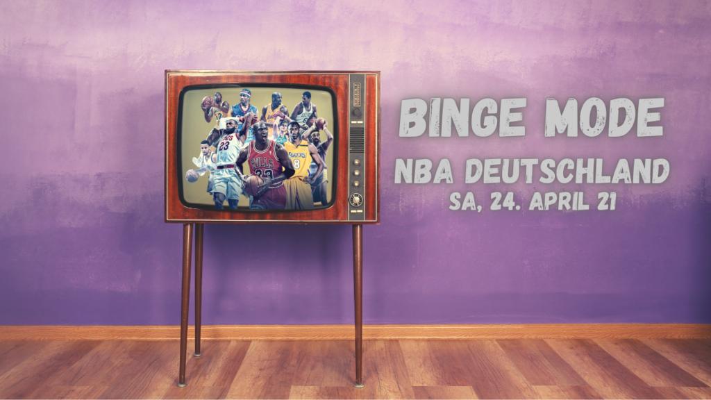 Weekend Binge Mode 24.04.21