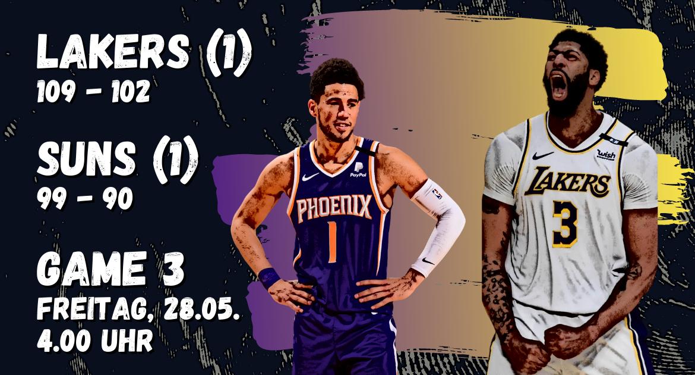 Lakers Suns NBA Playoffs