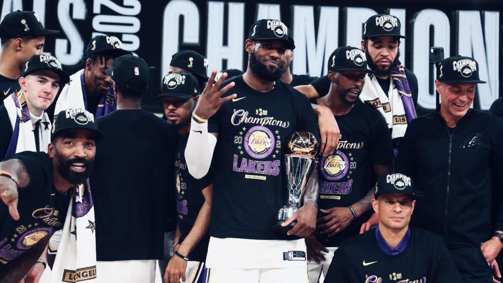 LeBron Finals 2020