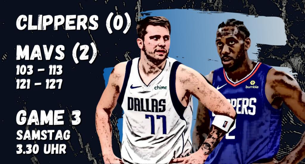 mavs clippers NBA playoffs
