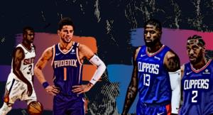 NBA Playoffs Suns Clippers