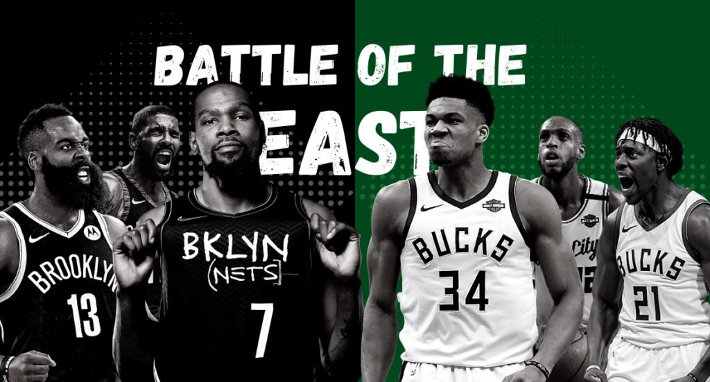 NBA Playoffs 2021 - Zweite Runde Brooklyn Nets vs. Milwaukee Bucks