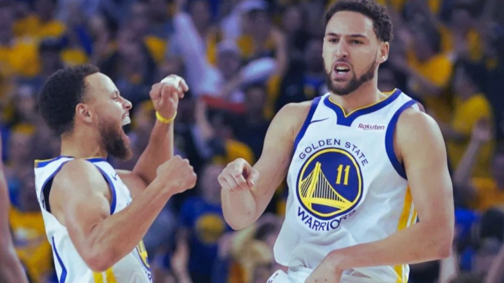 Warriors Curry Klay