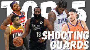 NBA Top 5 Shooting Guards