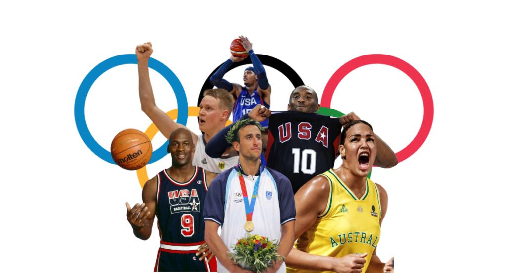Olympische Basketball Momente