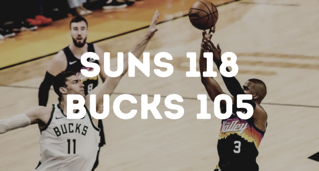 NBA Finals 2021 - Bucks vs. Suns Game 1