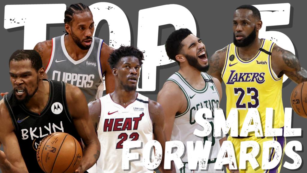 Small Forward Top 5 NBA