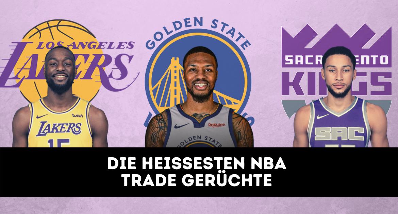 NBA Offseason 2021 - Die heißesten NBA Trade Gerüchte