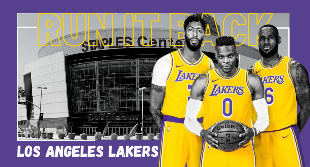 Los Angeles Lakers Russell Westbrook LeBron James