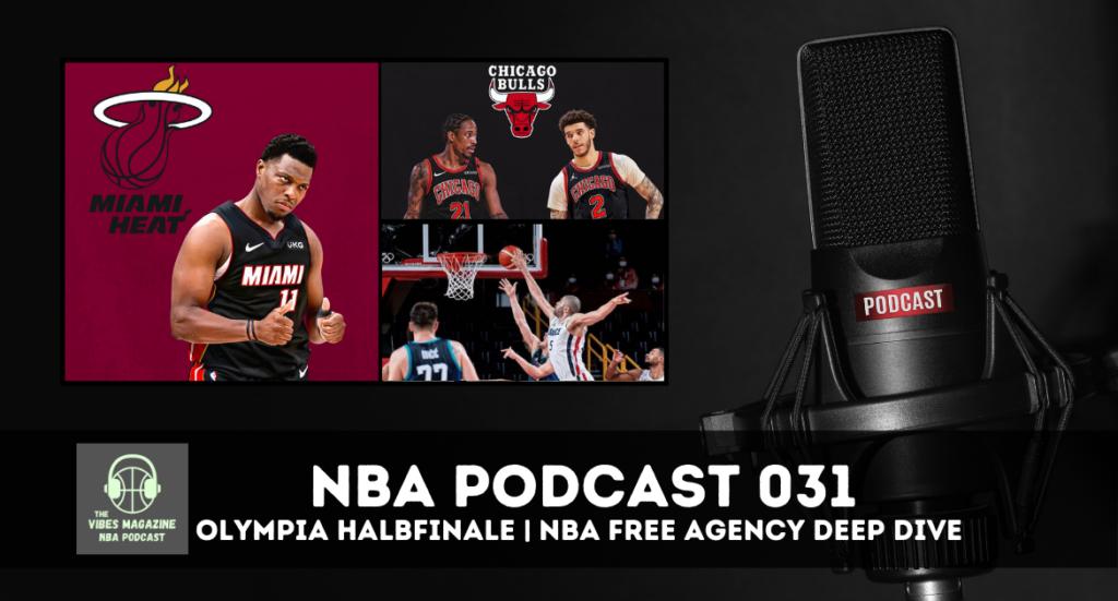 NBA Podcast Folge 031 - NBA Free Agency & Olympia Halbfinale