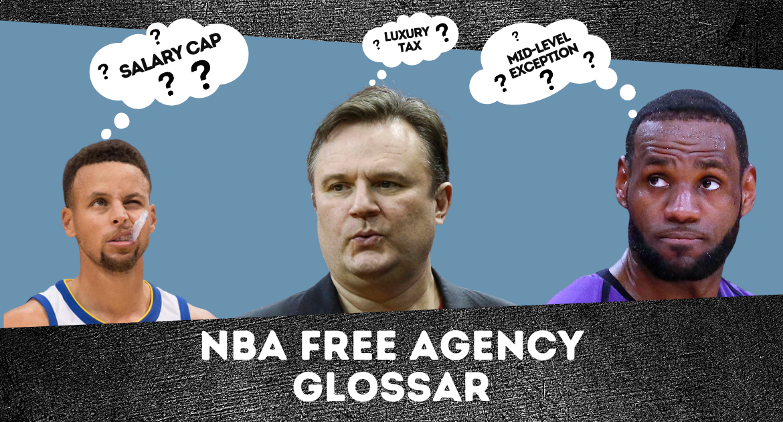 NBA Free Agency Glossar 2021