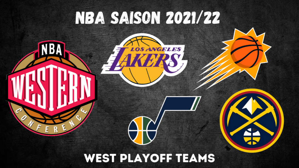 Alle 8 Western Conference Playoff Teams
