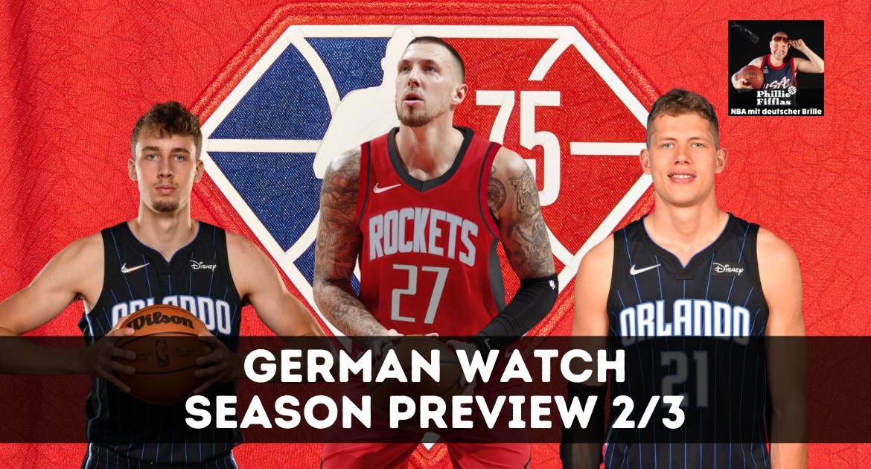 Season Preview Daniel Theis, Moe Wagner & Franz Wagner